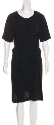 Leroy Veronique Semi-Sheer Casual Dress