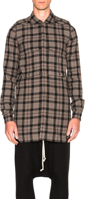 Rick Owens Field Shirt $1,362 thestylecure.com