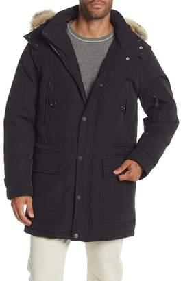 Pendleton Denver Coat w\u002F Genuine Coyote Fur Trimmed Hoodie