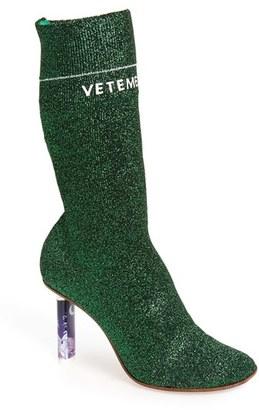Women's Vetements Sock Boot $2,230 thestylecure.com