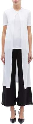 Rosetta Getty T-shirt panel split front drape top