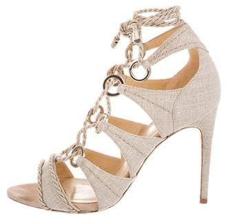 Alexandre Birman Aletah Lace-Up Sandals