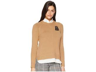 Lauren Ralph Lauren Bullion-Patch Layered Shirt