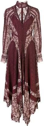 Jonathan Simkhai Embroidered Scarf Print Dress