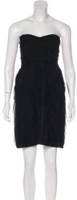 Diane von Furstenberg Kari Strapless Mini Dress
