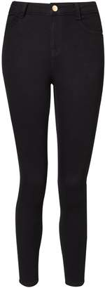 Dorothy Perkins Womens Petite Black Shaping Jeans