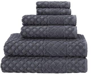 Enchanted Home Enchante Home Alure 6- Piece Luxury Quick Dry Turkish Bath Towel Set