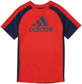 adidas Boys 4-7x Creator Logo Raglan Top