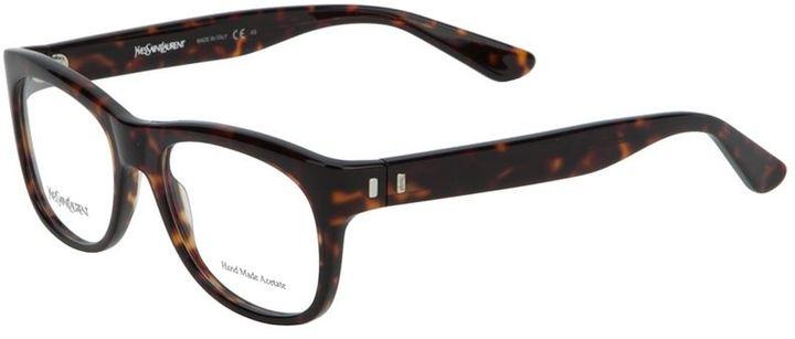 Saint Laurent tortoise shell glasses