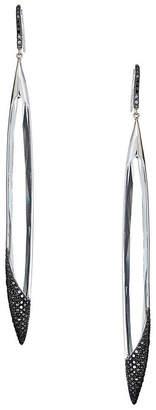 Lana Reckless 14K White Gold & Daimond Dagger Drop Earrings
