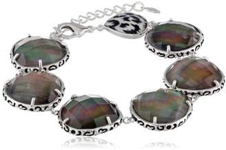 Mother of Pearl Multi-Doublet Mother-Of-Pearl Bracelet