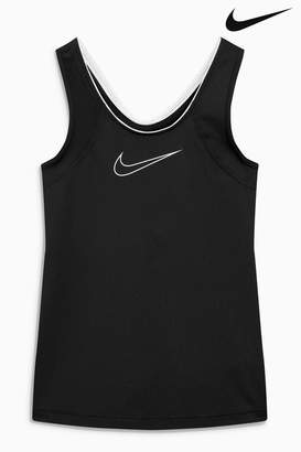 Next Girls Nike Black Pro Tank