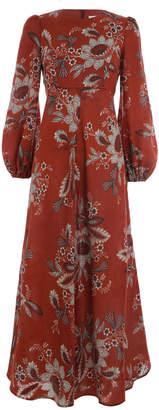 Zimmermann Juno High Neck Dress