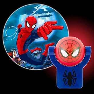 Marvel Projectables Ultimate Spider-Man LED Plug-In Night Light, 13341