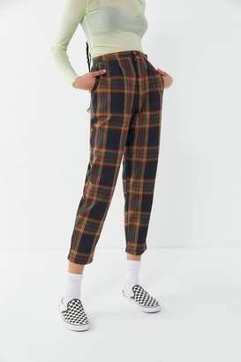 Urban Renewal Vintage Remnants Plaid Trouser Pant