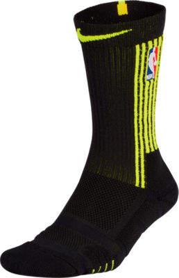 Nike Unisex Atlanta Hawks NBA Elite City Edition Quick Crew Basketball Socks