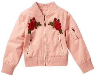 Urban Republic Twill Bomber Jacket (Little Girls)