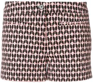 Dondup heart print shorts