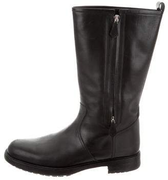 Hermes Leather Riding Boots