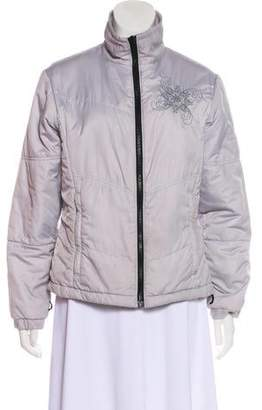 Columbia Embroidered Down Coat