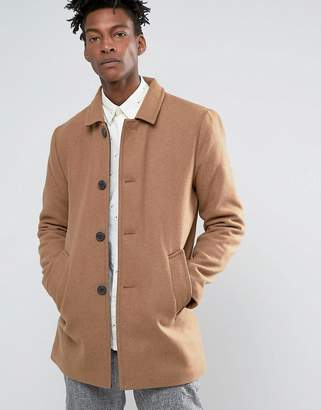 Selected Textured Wool Trench
