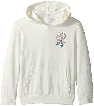 Spiritual Gangster Kids Namaste Hibiscus Pullover Hoodie Girl's Sweatshirt