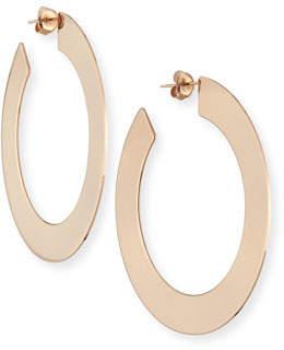 Jennifer Zeuner Jewelry Golda Large Hoop Earrings