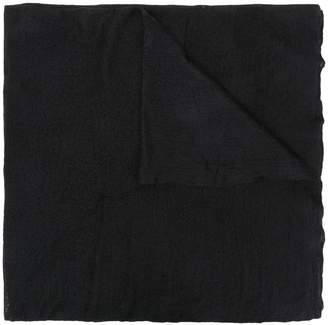 Allude frayed scarf