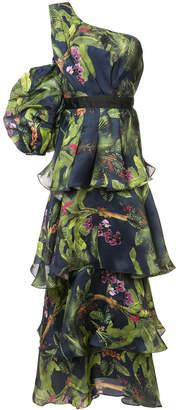 Laurèl Johanna Ortiz tiered forest dress