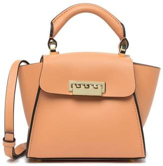Zac Posen Eartha Iconic Mini Leather Top Handle Satchel
