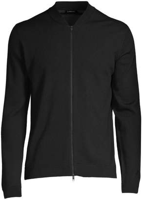 J. Lindeberg Lyam Merino Zip-Up Sweater