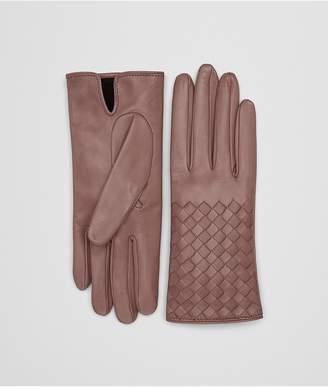 Bottega Veneta Deco Rose Nappa Gloves