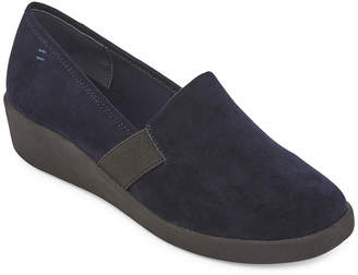 ST. JOHN'S BAY Womens Pemba Slip-On Shoe Round Toe