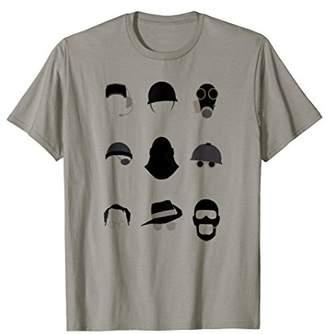 """Team Fortress 2 """"TF2 Minimalist Classes"""" t-shirt - TRS078"""
