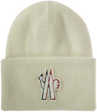 Moncler Large Symbol Patch Detail Beanie