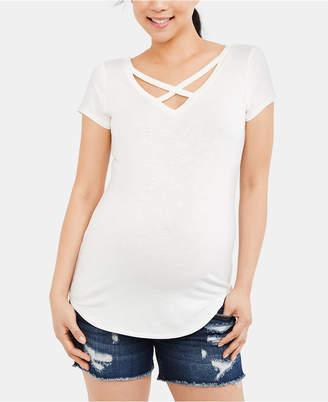6f4dbd33146d0 Jessica Simpson Blue Maternity Clothes - ShopStyle