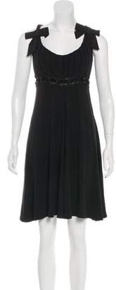 Blumarine Sleeveless Knee-Length Dress