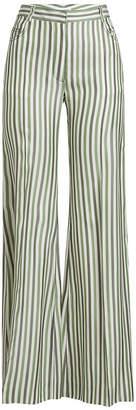 Sonia Rykiel Pyjama Stripe Wide-Leg Pants