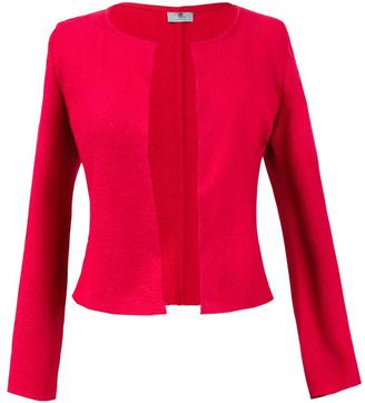 Lococina Red Cropped Jacket $178 thestylecure.com