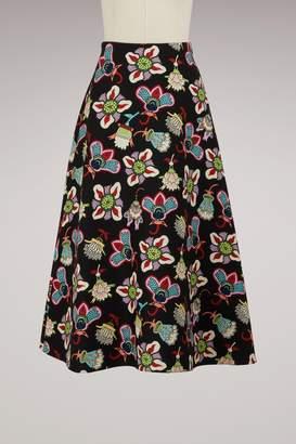 Valentino Flower Pop long skirt