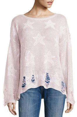 Wildfox Seeing Stars Sunset Yarn Sweater