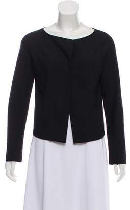 Chloé Wool Collarless Jacket