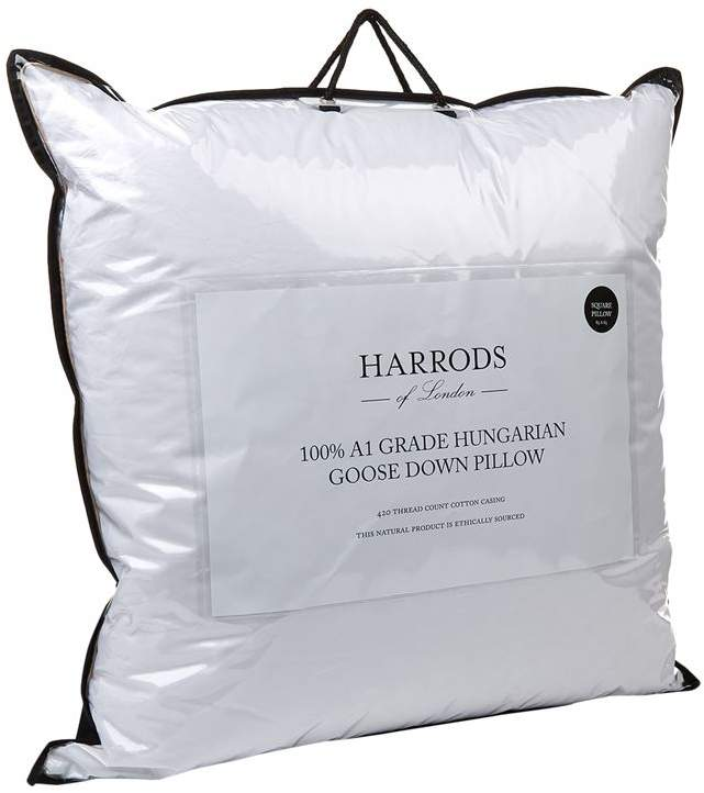 100% A1 Grade Hungarian Goose Down Square Pillow