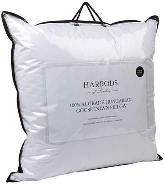 Harrods 100% A1 Grade Hungarian Goose Down Square Pillow