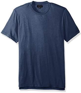 Velvet by Graham & Spencer Men's Zealand Heathered Jersey Short Sleeve Crew Neck Shirt