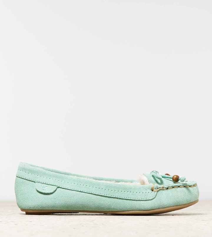 American Eagle AEO Bow Moccasin