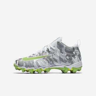 Nike Alpha Menace Shark Dangeruss Wilson Little/Big Kids' Football Cleat $40 thestylecure.com