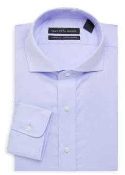 Saks Fifth Avenue Diagonal Textured Dress Shirt