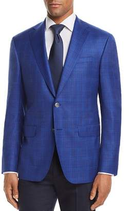 Jack Victor Tonal Glen Plaid Regular Fit Sport Coat