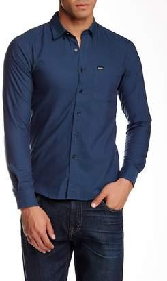RVCA 'That'll Do' Slim Fit Oxford Shirt